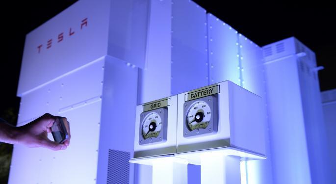 Southern Co, Tesla Reach Battery Testing Agreement
