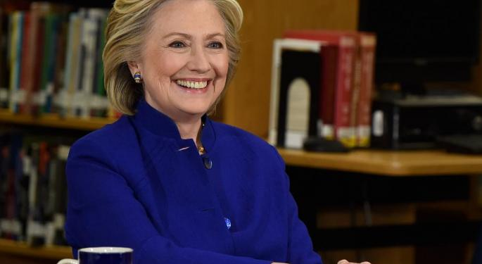 Not All Of Clinton's Policies Are Bad For Pharmaceuticals