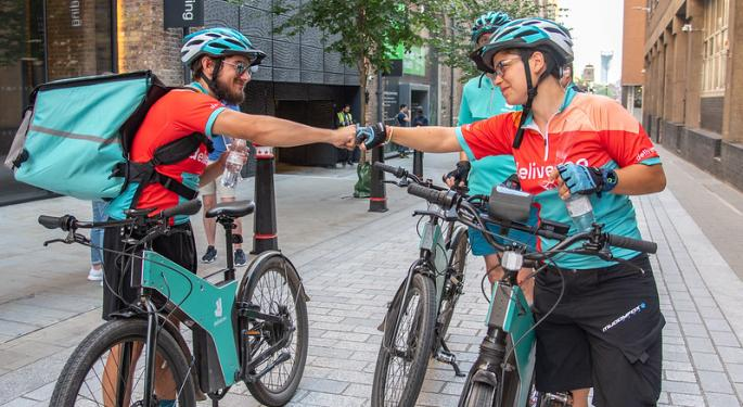 Amazon-backed UK Food Delivery Firm Deliveroo To Offer $69 Million Worth Of Shares To Customers