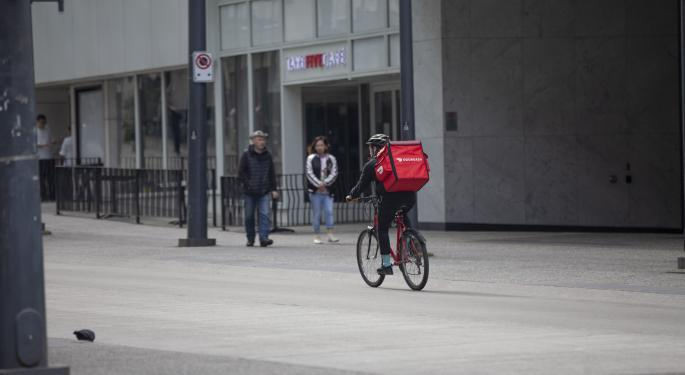 Why DoorDash Stock Is Dashing Higher Today