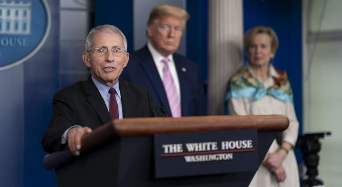 Fauci Says He Was 'Absolutely Not' Surprised That Trump Got COVID-19