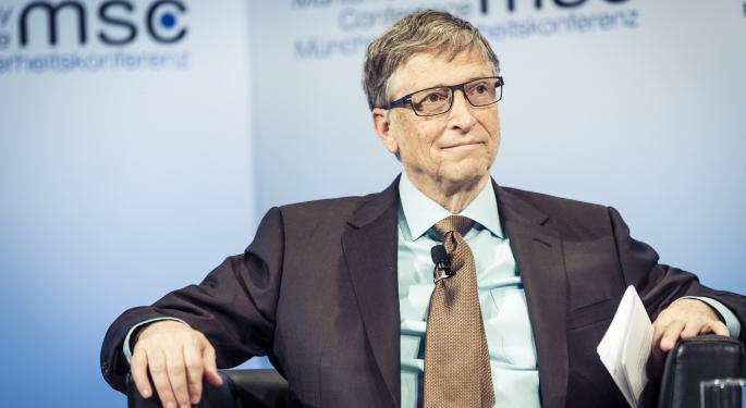 Bill Gates On Plant-Based Meat Alternatives: 'You Can Get Used To The Taste Difference'