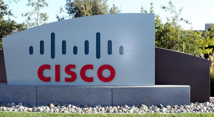 Cisco's Post-Earnings Gain Mirrors Positive Wall Street Commentary