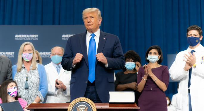 Experts React To Trump's Coronavirus Diagnosis And Its Impact On The Stock Market