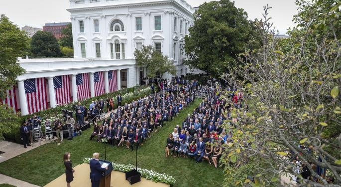 Here's What I Observed At Amy Coney Barrett's Rose Garden Ceremony