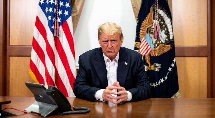 Trump Touts Regeneron Antibody Cocktail As 'Cure,' Says 'I Felt Good Immediately'