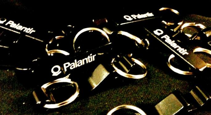 What's Going On With Palantir's Stock Today?
