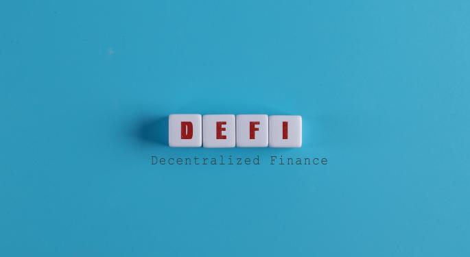 El valor total bloqueado de DeFi se ha triplicado este año