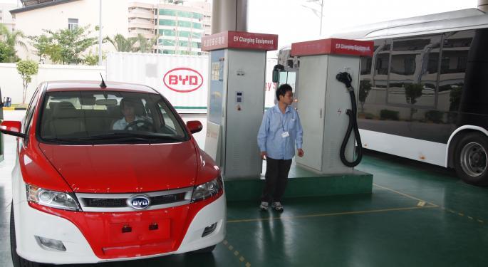 BYD supera en ventas a Nio, Xpeng y Li Auto en abril
