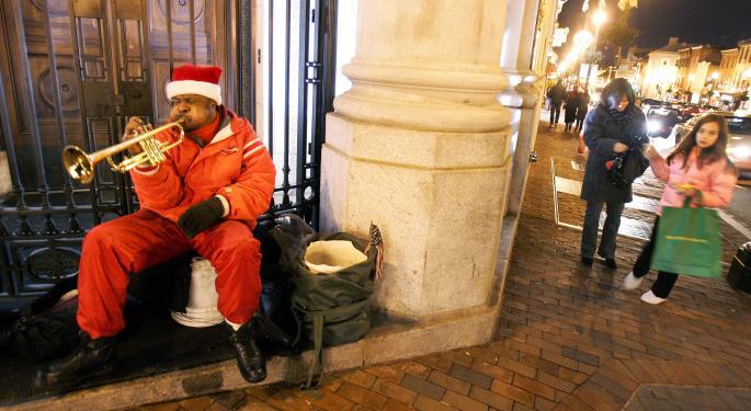 Bank Of America Internal Data Shows Slow Start To Holiday Season