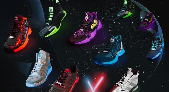 Now You Can Outrun Imperial TIE Fighters With New Adidas Star Wars Running Shoes