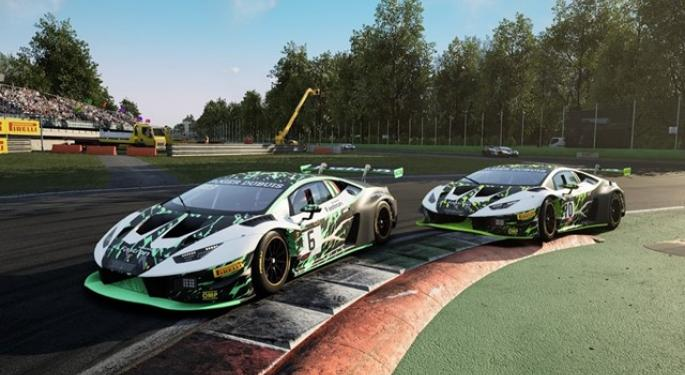 Lamborghini Roars Into Esports With 'The Real Race' Championship