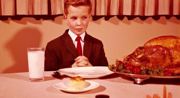 10 Stocks To Be Thankful For This Thanksgiving