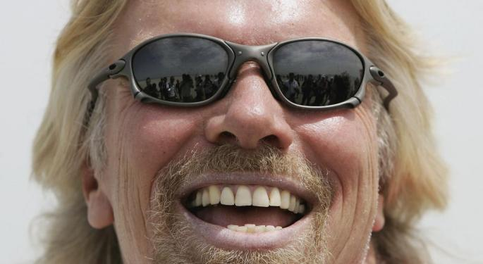Richard Branson Talks Virgin Origin Story, Reveals Why He's Successful