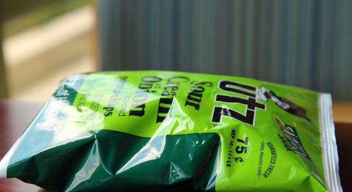 Why Utz Brands Is Trading Lower Today