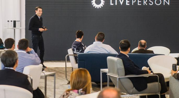 Exclusive: LivePerson Founder, CEO Talks Conversational AI, Q1 Earnings On 'PreMarket Prep'