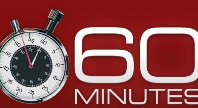 The '60 Minutes' Effect On Stocks