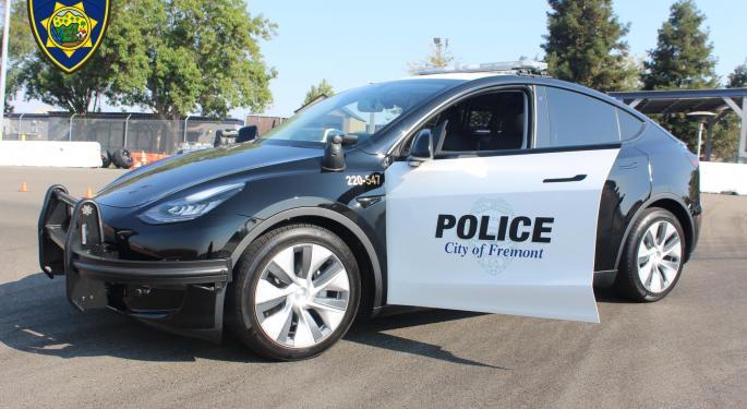 Fremont Police Department Announces New Tesla for Vehicle Fleet