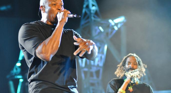 Dr. Dre, Music Icon And Entrepreneur, Hits 15 Million Record Sales