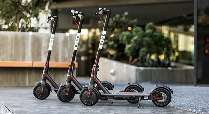 Bird Is Bringing More Electric Scooters To European Cities