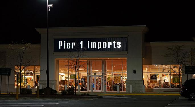 Pier 1 In Freefall After Rocky Q3 Print