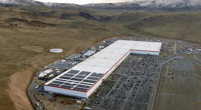 Tesla Nevada Battery Capacity To Rise 10% As Panasonic Adds New Production Line