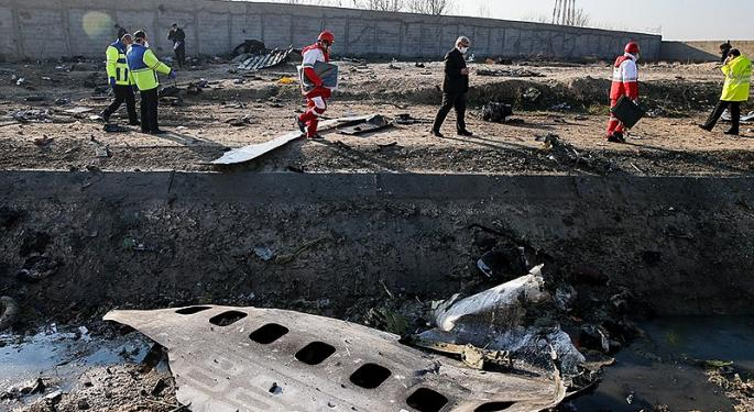 US, Canadian Officials Say Iran May Have Accidentally Shot Down Crashed Ukrainian Boeing 737