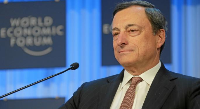 Stocks Fall As ECB Cuts Growth Guidance, Bank Stimulus Plan Falls Flat