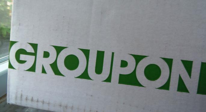Goldman Dumps Groupon, Says International Headwinds Threaten Bottom Line