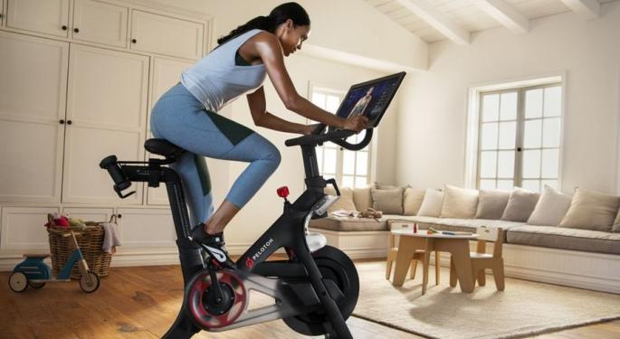 Peloton Reports Q1 Earnings Beat, Fitness Subs Up 137% YoY
