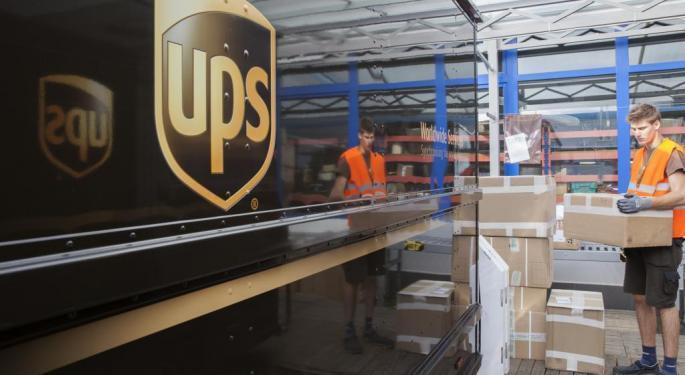 What's Going On With UPS Stock Today?