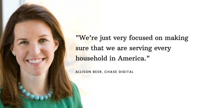 Chase Digital's Allison Beer On Disruptive Trends, Digital Banking And Investing
