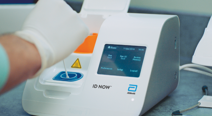 FDA Warns Abbott's Coronavirus Rapid Test Kits Used By White House Possibly Shows False Negative