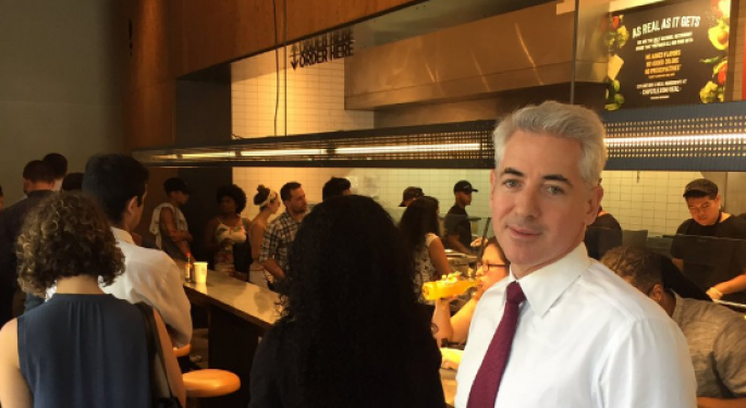 Bill Ackman Sends First Tweet From Chipotle