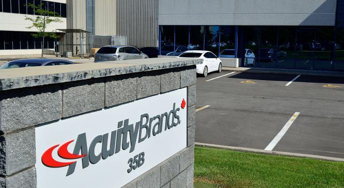 Goldman Sachs: Acuity Brands' Risk-Reward Profile Has Turned Unfavorable