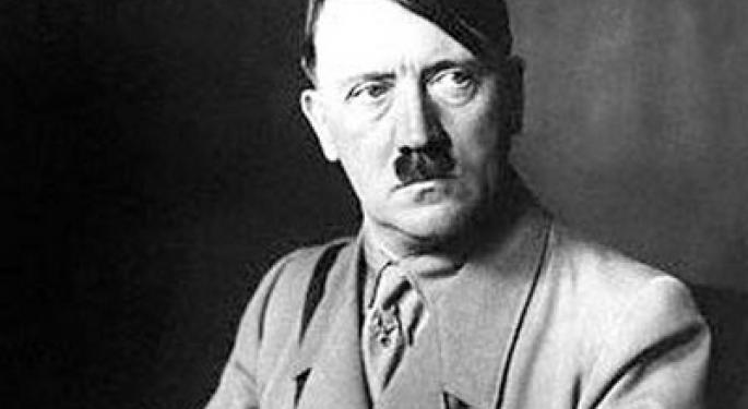 This Day In Market History: Hitler's First Aggression