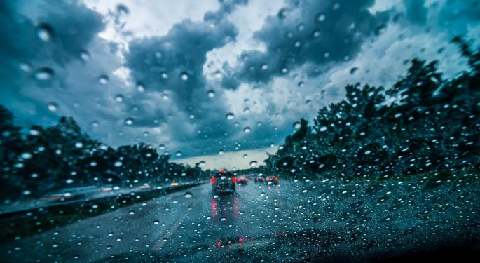 Wet Weather Hitting Nation's Two Largest Freight Markets