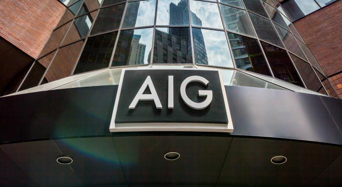 AIG Option Trader Bets $750K On More Downside Ahead