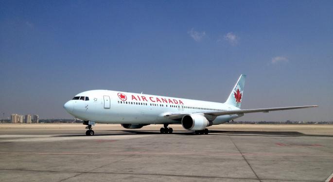 Air Canada Cargo Revenue Plunges More Than 18%
