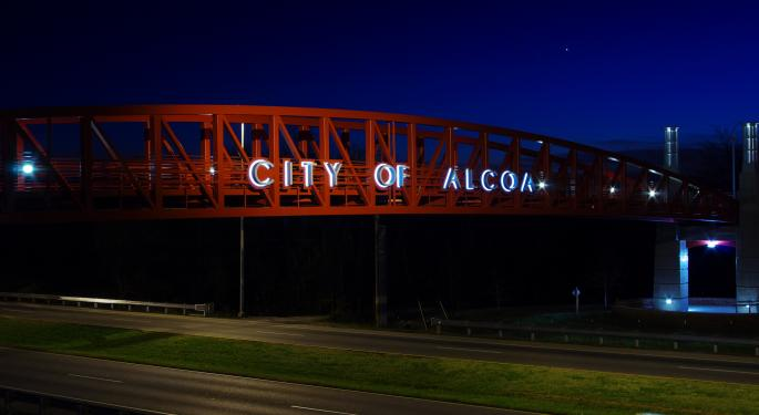 A Lot Is Riding On Alcoa's Earnings Call, Bloomberg Says