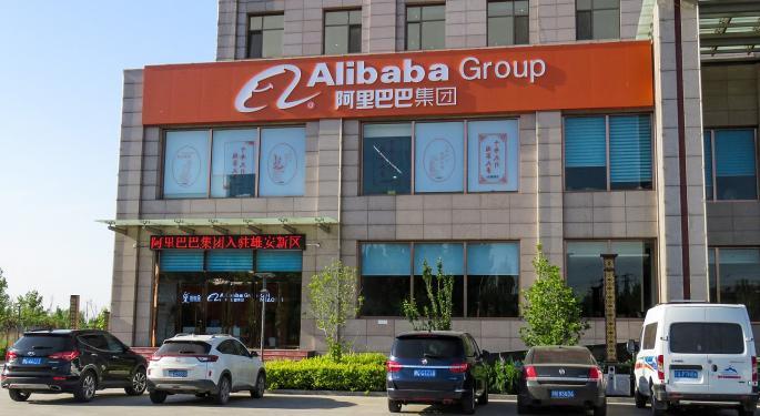 ¿Está Alibaba a punto de presentar una subida?
