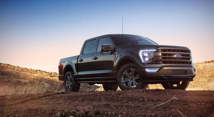 Ford Constructing Factory For All-Electric F-150: Report