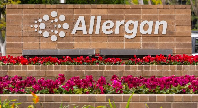 Analyst Says Negative Allergan Headlines Are Priced In, Upgrades Stock