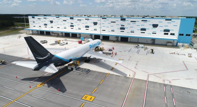 Amazon Air Launches Operations At New Florida Hub