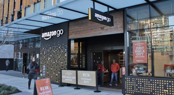 Retail Wars Move From Online To In-Store As Wal-Mart Tests Cashierless Store To Rival Amazon