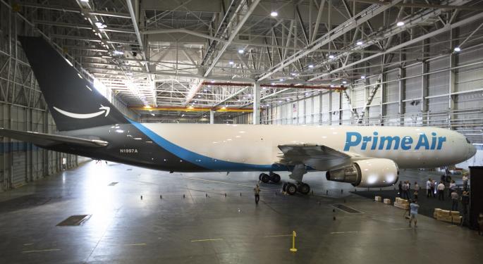 DA Davidson Recommends Buying Amazon Weakness, Says Retail Giant Has 'Low Likelihood' Of Antitrust Headwinds
