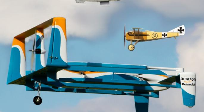Amazon Prime Air VP Touts Environmental, Safety Benefits Of Drone Delivery