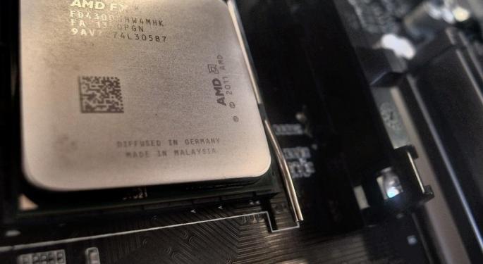Bank Of America Raises AMD Target On Market Share Optimism