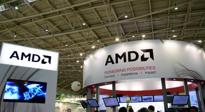 Bank Of America Analyst Says AMD's Stock Presents 'An Enhanced Opportunity'