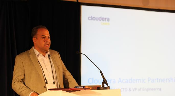 Cloudera Could Meaningfully Increase Its 'Wallet Share,' Plenty Of Big Fish Left In The Sea